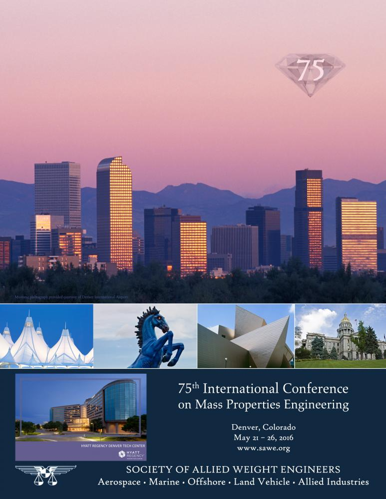 75th SAWE International Conference on Mass Properties Engineering