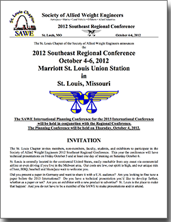 2012 Southeast Regional Conference Flyer
