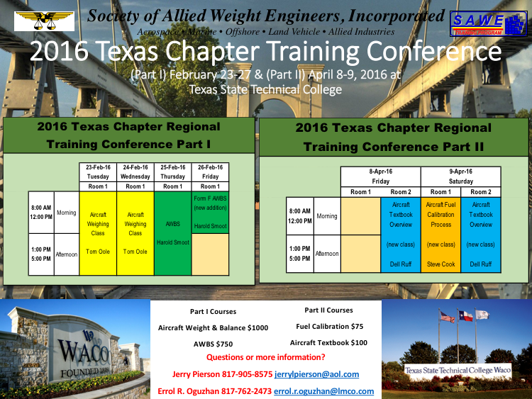 2016 Texas Chapter Training Conference