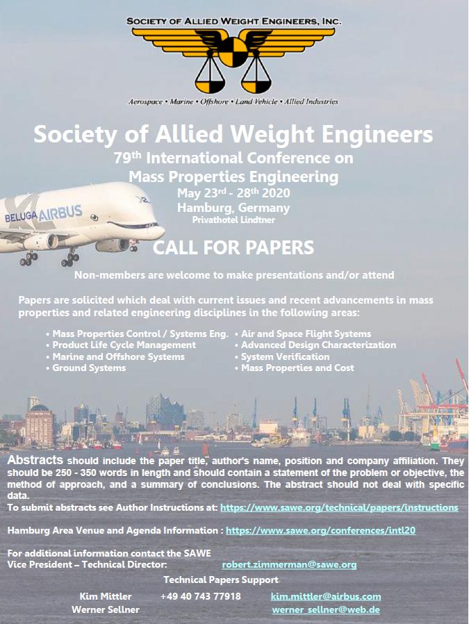 Society of Allied Weight Engineers   Aerospace • Marine