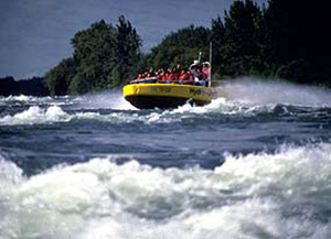 Boating in Montreal's Lachine Rapids